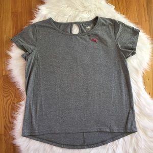 Women's Gray Puma Tee Size XL
